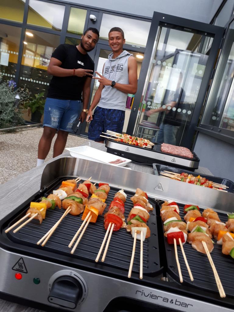 barbecue escale