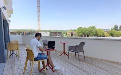 Un espace de coworking au cœur de la résidence